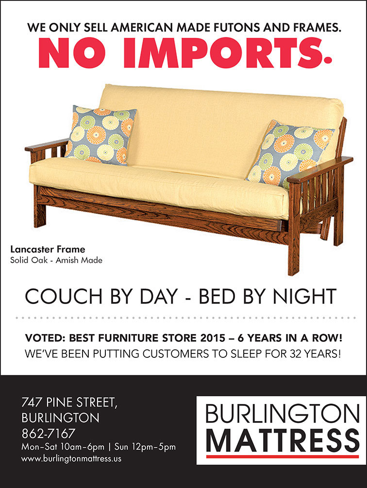 We only sell American made futons and frames ad