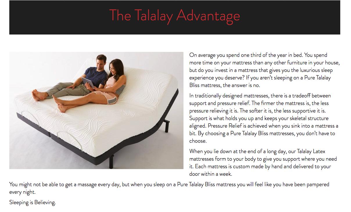 The Talalay Advantage